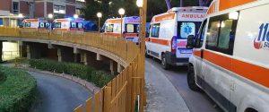 Ambulanze in coda al pronto soccorso di Partinico