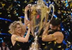 Ballando con le stelle: Gilles Rocca e Lucrezia Lando trionfano in finale Vincono con il 58% dei voti da casa, secondi Paolo Conticini e Veera Kinnunen - Ansa