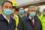 Caltanissetta, il vice ministro Cancelleri inaugura il viadotto Salso