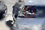 Un frame del video diffuso dai carabinieri