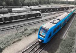 I nuovi treni a idrogeno arrivano a Milano: ecco come funzionano  Fnm (Ferrovie Nord Milano), il principale gruppo lombardo di trasporto pubblico, investe sul trasporto ferroviario «green». Da Alstom in arrivo i primi 6 treni a celle a combustibile a idrogeno - Corriere Tv