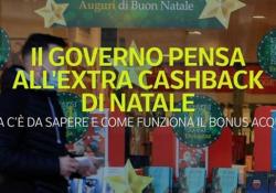 Il governo pensa all'extra-cashback di Natale Cosa c'è da sapere e come funziona il bonus acquisti - Ansa