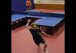 Ping-pong: la partita su due tavoli Un esperimento singolare che però potrebbe aprire nuovi orizzonti - Dalla Rete