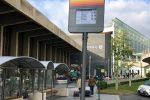 """Aeroporto di Catania, installata una palina """"intelligente"""": orari in tempo reale"""