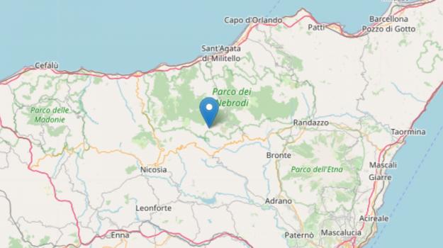 terremoto, Enna, Cronaca
