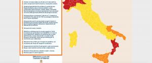Dpcm, Sicilia zona arancione: limiti agli spostamenti, chiusi bar, pub e ristoranti