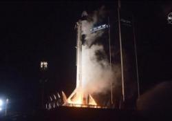 Space X, a 9 anni dallo shuttle gli Usa tornano fra le stelle con il razzo di Elon Musk A bordo del volo spaziale 4 astronauti diretti alla stazione spaziale internazionale - Ansa