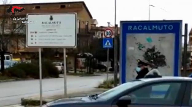 furto, Racalmuto, Agrigento, Cronaca