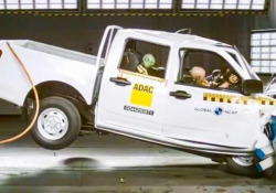 Crash test: zero stelle per uno dei pick-up più venduti in Sudafrica Il pick-up Steed 5 prodotto dalla cinese Great Wall ha totalizzato 0 stelle su 5 - CorriereTV