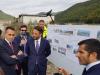 Il ministro degli Esteri Luigi Di Maio nel corso della visita al cantiere della Terni-Rieti, 24 ottobre 2019 (Archivio)