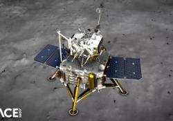 La sonda cinese Chang'e-5 pronta allo sbarco sulla Luna Si è distaccata dal modulo che resterà in orbita - Corriere Tv