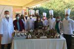 Sant'Agata di Militello, donato all'ospedale un paesaggio in pasta di zucchero