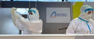 Coronavirus, all'aeroporto di Palermo tamponi rapidi anche per chi parte dalla Sicilia