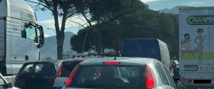 Incolonnamenti sulla circonvallazione di Palermo