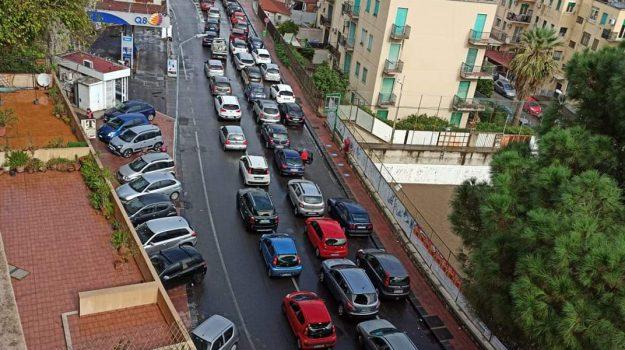 tamponi, TRAFFICO, viabilità, Messina, Cronaca