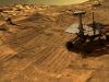 Sedimenti ricchi di jarosite individuati sulla superficie di Marte dal rover Opportunity della Nasa. (fonte: NASA)