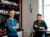 I proprietari del Loste café, a sinistra Stefano Ferraro a destra Lorenzo Cioli