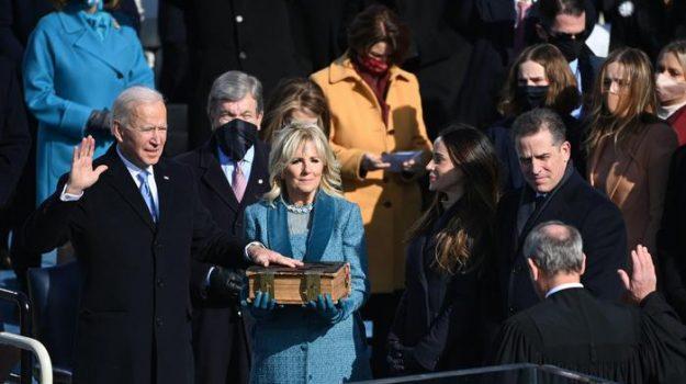 L'insediamento di Biden