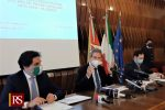 La conferenza stampa di Musumeci a Catania
