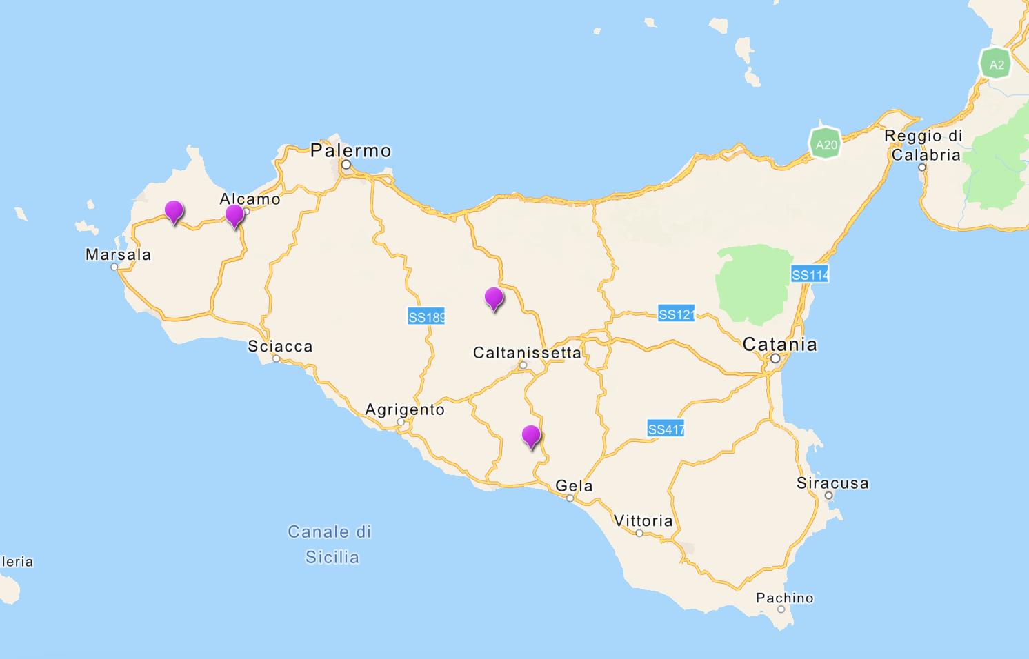 Cartina Sicilia Segesta.Deposito Rifiuti Nucleari Individuate Sette Regioni C E Anche La Sicilia Le Aree Scelte Nell Isola Giornale Di Sicilia
