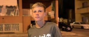 Andrea Alabiso, 14 anni