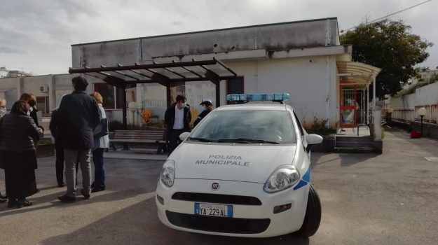 asilo, incendio, Palermo, Cronaca