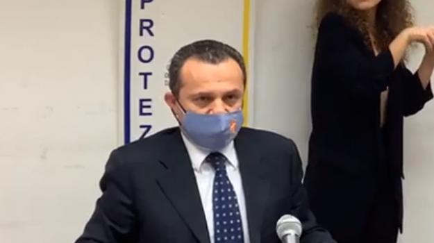 coronavirus, zona rossa, Cateno De Luca, Messina, Politica