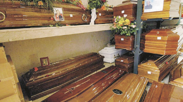 cimitero dei rotoli, Leoluca Orlando, Palermo, Cronaca