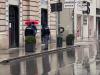 Coronavirus, controlli sotto la pioggia in centro a Palermo