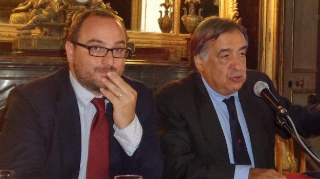 Giusto Catania, Leoluca Orlando, Marianna Caronia, Palermo, Politica