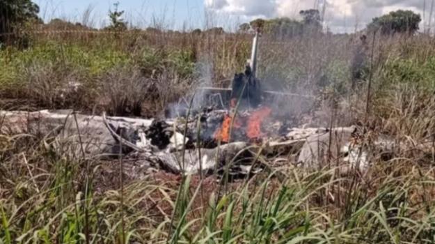 aereo caduto, Sicilia, Mondo