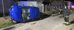 L'incidente a Tre Fontane (foto di Elio Indelicato)