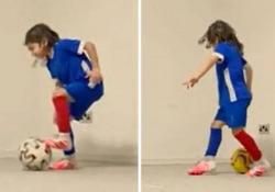 L'allenamento ipnotico: a 6 anni controlla la palla da campione Su Instagram il ragazzino conta 4,7 milioni di follower - Dalla Rete