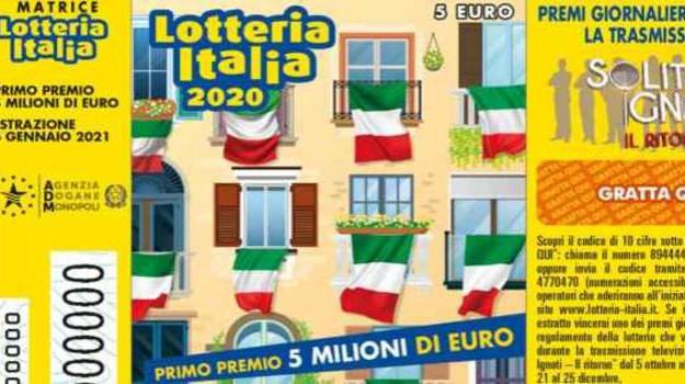 lotteria italia, prizzi, Sicilia, Cronaca