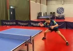 Ping-pong, l'allenamento ipnotico di Ovtcharov Inizia un nuovo anno e per Dima Ovtcharov è tempo di duri allenamenti - Dalla Rete