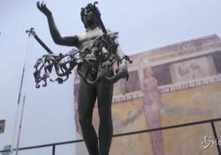 Pompei, il nuovo Antiquarium apre al pubblico: la storia della città fino all'eruzione del 79 d.C. Il museo ha riaperto il 25 gennaio scorso - LaPresse/AP
