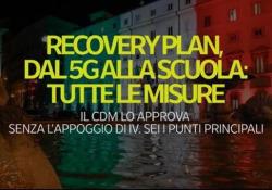 Recovery plan, dal 5G alla scuola: i sei punti principali e le misure Il cdm lo approva senza l'appoggio di Iv. Sei i punti principali - Ansa