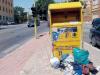 Rifiuti gettati fuori dai contenitori ad Agrigento, scattano 32 multe