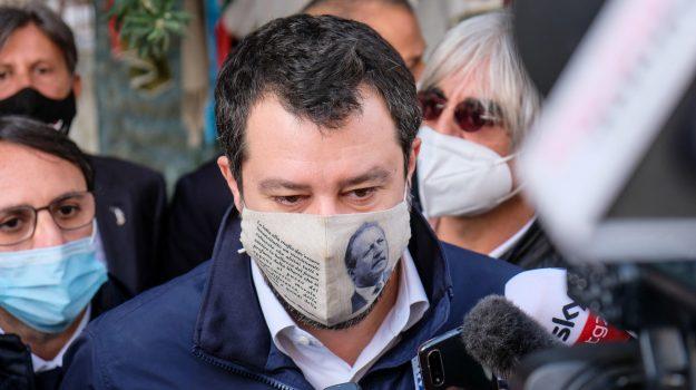 migranti, Open Arms, Leoluca Orlando, Matteo Salvini, Palermo, Cronaca