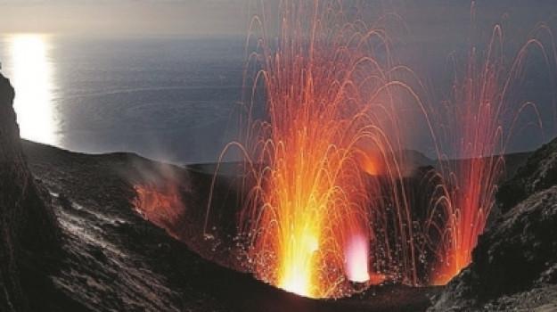 Stromboli, vulcani, Messina, Cronaca