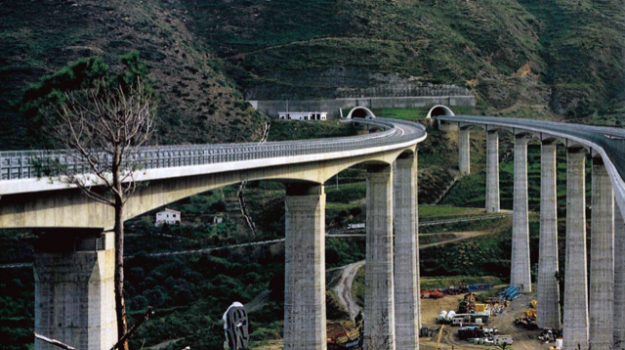 autostrade, Messina, Economia