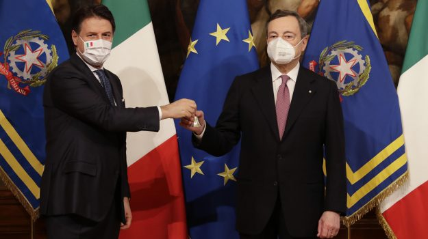 governo, Giuseppe Conte, Mario Draghi, Sicilia, Politica