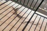 Pulviscolo sui balconi a Palermo