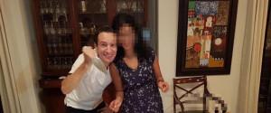 Una foto tratta dal profilo Facebook della moglie dell'Ambasciatore italiano Luca Attanasio