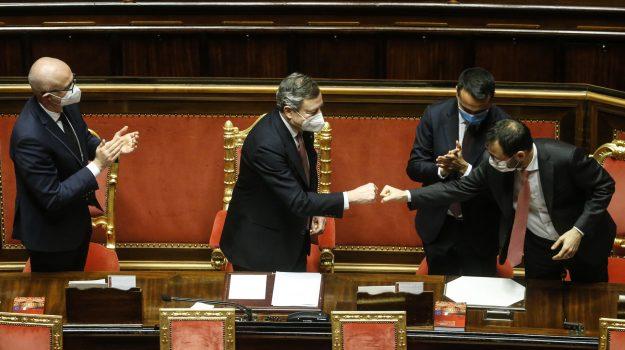 governo, m5s, Senato, Mario Draghi, Sicilia, Politica