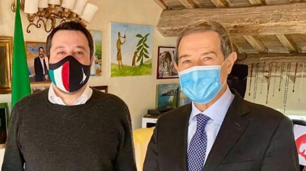 Lega, Matteo Salvini, Nello Musumeci, Sicilia, Politica