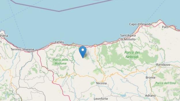 San Mauro Castelverde, sisma, terremoto, Palermo, Cronaca