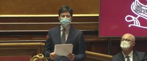 Il ministro alla Salute, Roberto Speranza