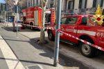 Paura in corso Cavour a Messina, scoppia incendio in un ristorante
