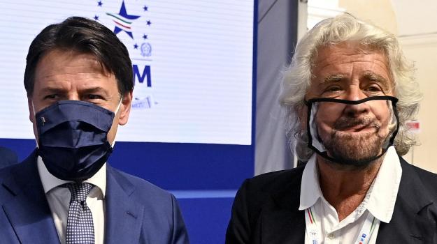 m5s, Beppe Grillo, Giuseppe Conte, Sicilia, Politica